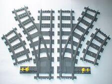 LEGO® Eisenbahn Weichenpaar für 7499, 7895, 7897, 7898, 7939, 60198, 60238 B