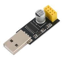 1X ESP01 Programmer Adapter UART GPIO0 ESP-01 Adaptateur ESP8266 USB NEU,.SS~