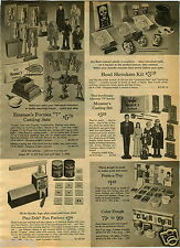 1965 PAPER AD TV Characters The Munster Casting Set Toy Emanee Formex Dracula ++