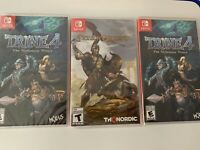 nintendo switch games lot Of 3