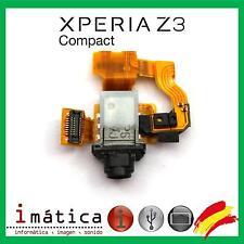 FLEX CONECTOR DE AUDIO SONY XPERIA Z3 COMPACT D5803 D5833 MINI JACK AURICULAR