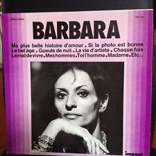 33 TOURS / LP COMPIL 12 TITRES--BARBARA--COLLECTION IMPACT