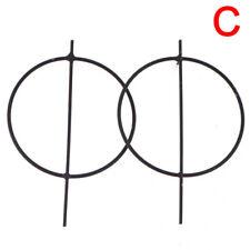 Geometric Circle Hoop Earrings Big Round Dangle Studs Earrings Vintage JewelryES