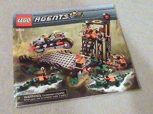Lego AGENTS--instruction Manual Only #8632 Swamp Raid