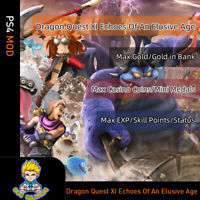 Dragon Quest XI Echoes of an Elusive Age(PS4 Mod)- Max Gold/EXP/Skill Points