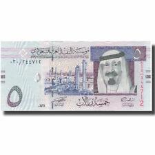 [#578209] Banknote, Saudi Arabia, 5 Riyals, 2007, 2007, Km:32a, Unc(65-70)