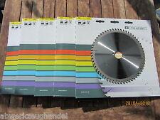 5 Stk.HM/Widia Handkreissägeblatt 216 x30 Z 60  Stehle für Bosch/Dewalt/Metabo