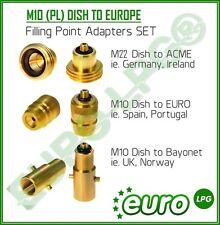 Voiture d ´ occasion, tous les gpl point de remplissage adaptateur set de l'Europe à uk