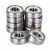 10 Stück 608ZZ Metall Kugellager Miniaturkugellager Hochgeschwindigkeitslager
