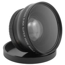 52mm Lente Gran Angular + Macro Objetivo para Nikon D7000 D5200 D3200 D3100 LF36