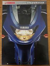 Yamaha YZF600R Thundercat Motorcycle Sales Brochure 2002