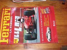 $$$ Fascicules Ferrari La passion N°62 456 MGTF1 1997Didier Pironi