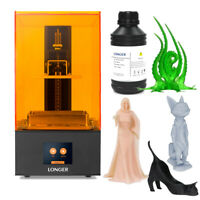 Longer 3D Printer Orange 10 / Orange 30 LCD 405nm UV Curing Rapid Resin Printing