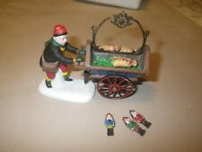 Heritage Village Collection - Nutcracker and Cart