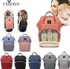 Fashion Mummy Maternity Nappy Bag Large Capacity Nappy Bag Travel Backpack Nursi
