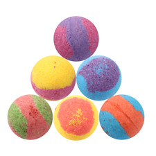 Mild East Gold Bath Bomb Fizzy Lush Premium Type Lot of 6 Big Bath Bombs 2.1 Oz