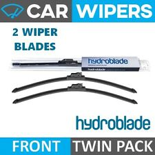 "HYDROBLADE Retro-Fit Hook Type 16"" & 16"" Flat Windscreen Wiper Blades"