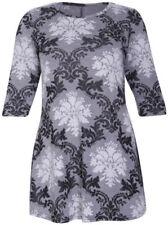 Vêtements tuniques, caftans gris pour femme taille 42