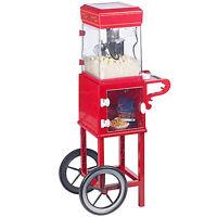 Popcornmaschine mit Wagen, Retro Popcornmaker XXL, Höhe 103 cm