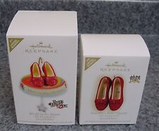 lot 2 Hallmark 2009 2011 All in the Shoes Dorothy Ruby Limited Wizard of Oz