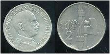 ITALIE  ITALY  2 lire 1923