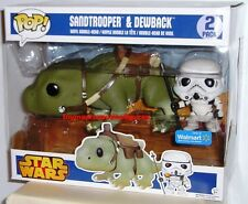 FUNKO POP 2016 STAR WARS DEWBACK & SANDTROOPER WalMart Exclusive 2 PACK In Stock