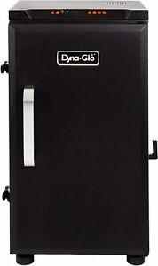 "NEW! DYNA GLO DGU732BDE-D 30"" DIGITAL ELECTRIC SMOKER OVEN BLACK"