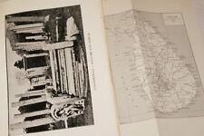 VOYAGE SEJOUR A CEYLAN LECLERCQ ILLUSTRE CARTE 1910