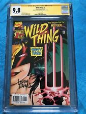 Wild Thing #1 - Marvel - CGC SS 9.8 NM/MT - Signed by Ron Lim, Larry Hama