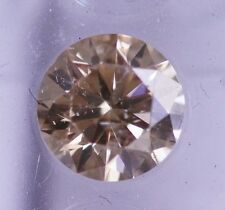 FANCY DARK BROWN CHAMPAGNE 100% ALL UNTREATED NATURAL DIAMOND 1.52 CT SPARKLING