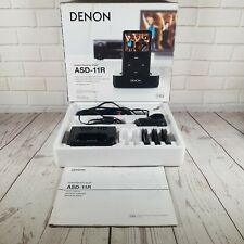 Denon IPOD control Dock. Cradle Adaptor ASD-11R With Cables Boxed.