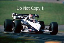 Nelson Piquet Brabham BT52B Winner European Grand Prix 1983 Photograph 2