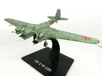 Tupolev SB 2M-100 Soviet Fast Bomber WWII 1941 Year 1/150 Scale Model with Stand