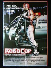 ROBOCOP 1987 Orig Australian movie poster Peter Weller police robot Nancy Allen