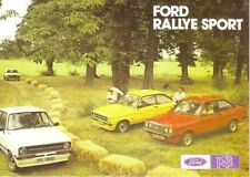 Ford Escort Mk 2 RS Range Car Jumbo Fridge Magnet