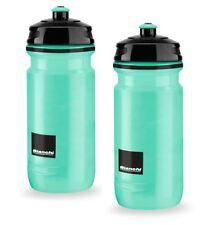 Elite Bianchi Loli Water Bottles – 600ml, Celeste, Square Design (2 Pack)