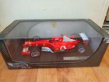 Gioco - 1 18 Hot Wheels Ferrari F 2003- Michael Schumacher