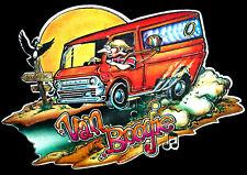 VTG Ford Van BOOGIE 70s vanning E150 E250 Custom Econoline Vans T-shirt iron-on