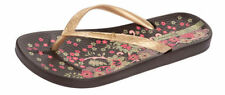 Medium (B, M) Synthetic Floral Sandals for Women