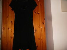 Black knee length fit and flare dress, CLOSET, size 10, NEW with TAGS (BNWT)