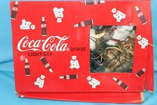 Coca-Cola String Light Set Polar Bears & Bottles 10 Lights Christmas Decoration