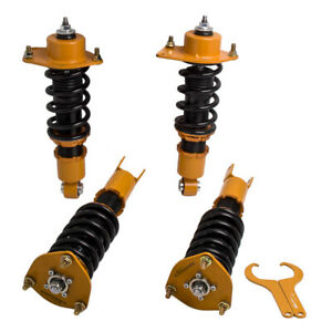 4x suspension coilovers struts Pour Mazda RX-8 All 2004-2011 shock absorbers