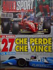 Auto & Sport ROMBO 22 1995 con inserto AUTO NEWS - Jacques Villeneuve 1° INDY