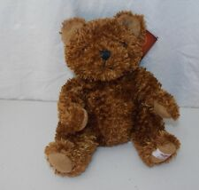 "Hard Rock Cafe Rockin' Bear Herrington Teddy Brown Plush Stuffed Animal 9"" New"