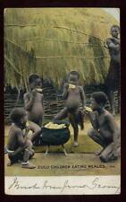 SOUTH AFRICA 1906 PPC ZULU CHILDREN WINBURG ORC