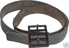 Cinturone Regio Esercito, italian leather belt WW2