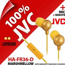 NEU JVC ha-fr36-d Marshmallow Kopfhörer Ohrhörer Ohr für iPhone 4s 5 5s 6 iPod