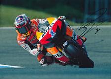 Casey Stoner Signed 8X12 inches Repsol Honda MotoGP Photo