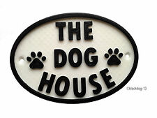 Dog Plastic Modern Decorative Plaques & Signs