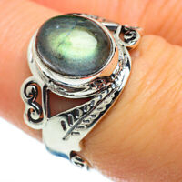 Labradorite 925 Sterling Silver Ring Size 7.25 Ana Co Jewelry R46606F